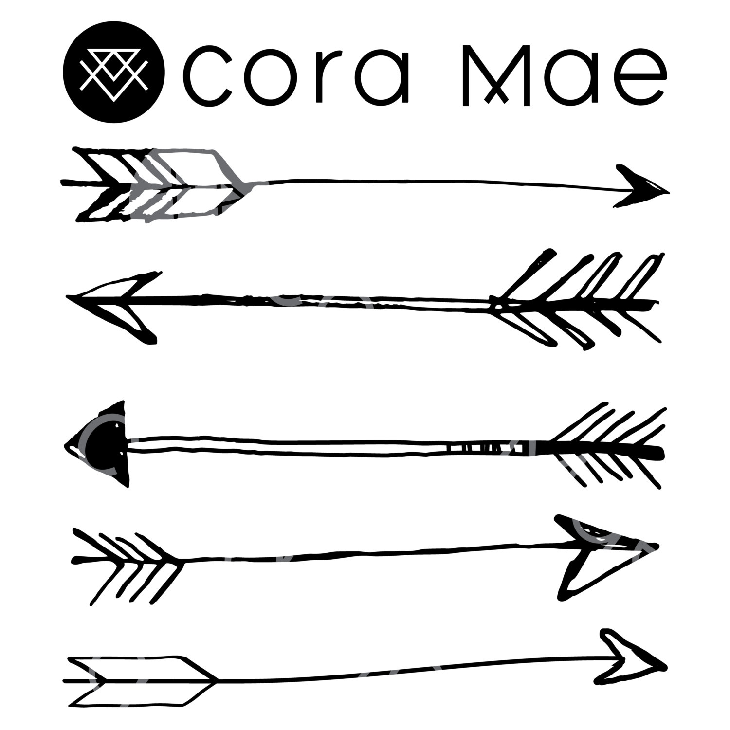 Large sketched arrow png. Arrows clipart clear background