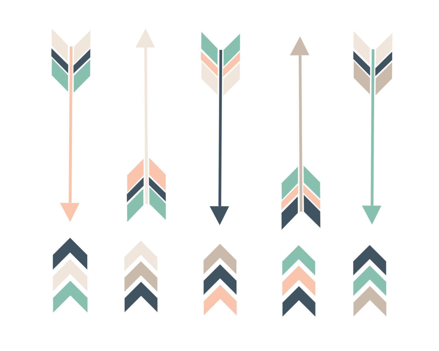 arrows clipart trendy