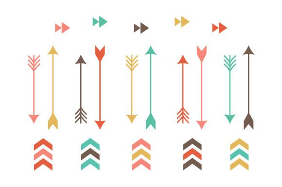 Tribal arrow clip art. Arrows clipart creative