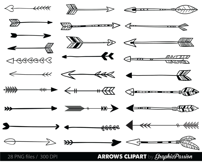 Clip art tribal arrow. Arrows clipart transparent background