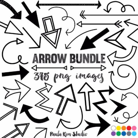 Arrow clip art paula. Arrows clipart doodle