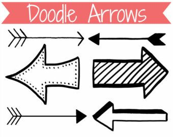 Arrows clipart doodle. Free arrow clipartfest dr