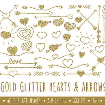 Arrows clipart filigree. Best glitter clip art