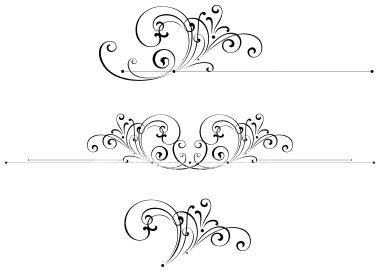 best images on. Arrows clipart filigree
