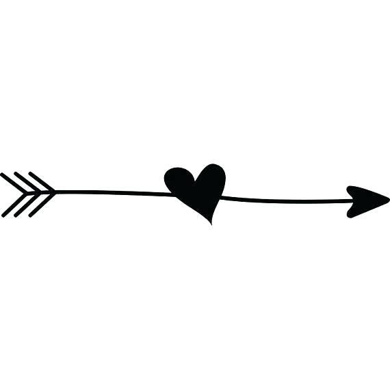 Arrow heart clip art. Arrows clipart fancy