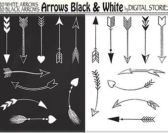 Arrows clipart primitive. Arrow hand drawn pencil