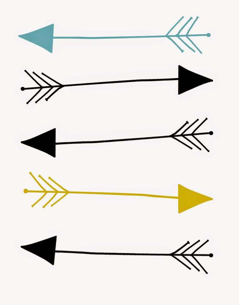 Arrows clipart printable.