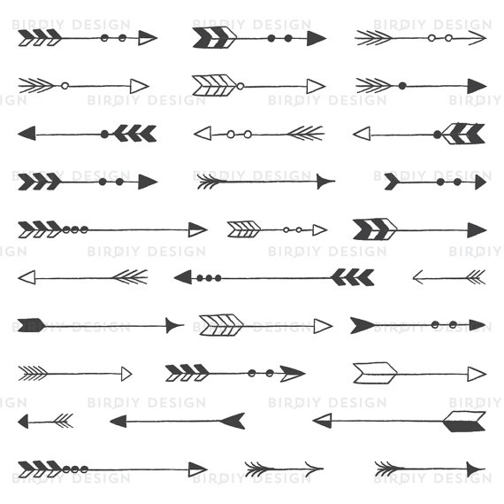 Arrow tribal wedding . Arrows clipart rustic