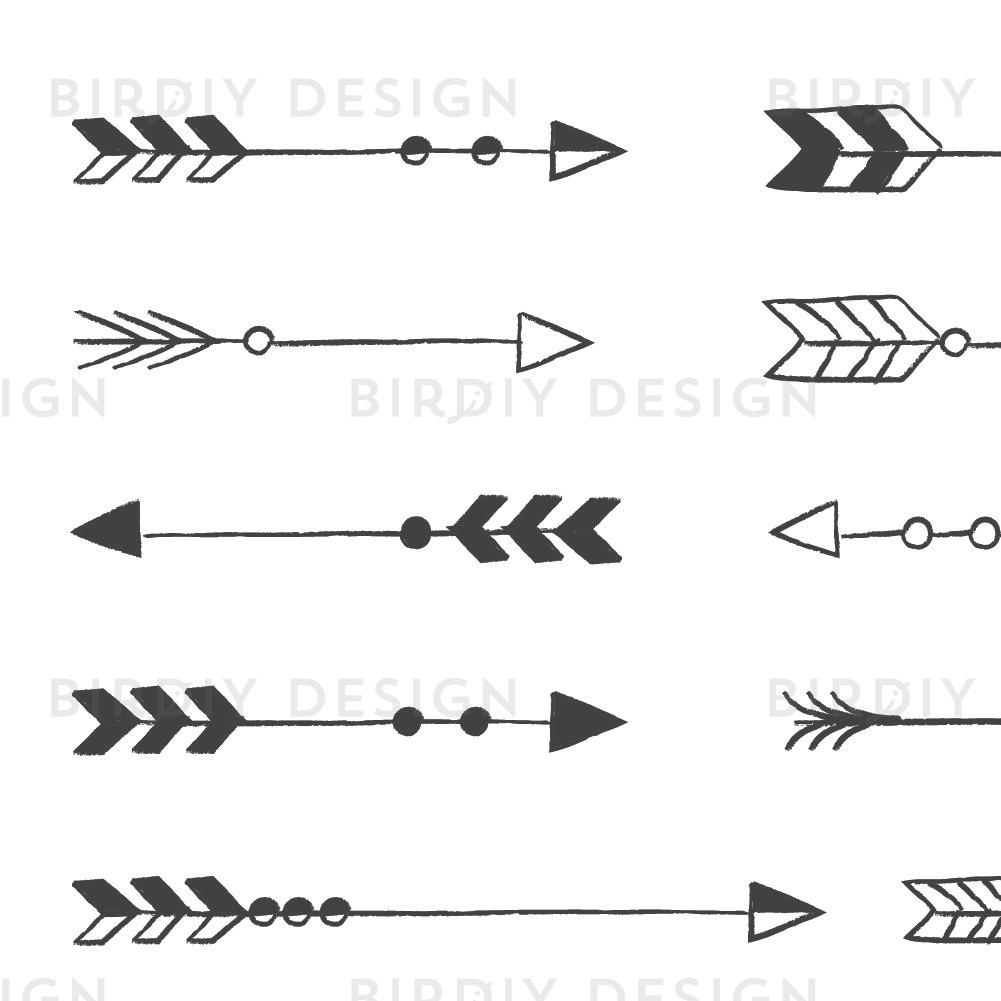 Arrows clipart shabby chic. Rustic arrow tribal wedding