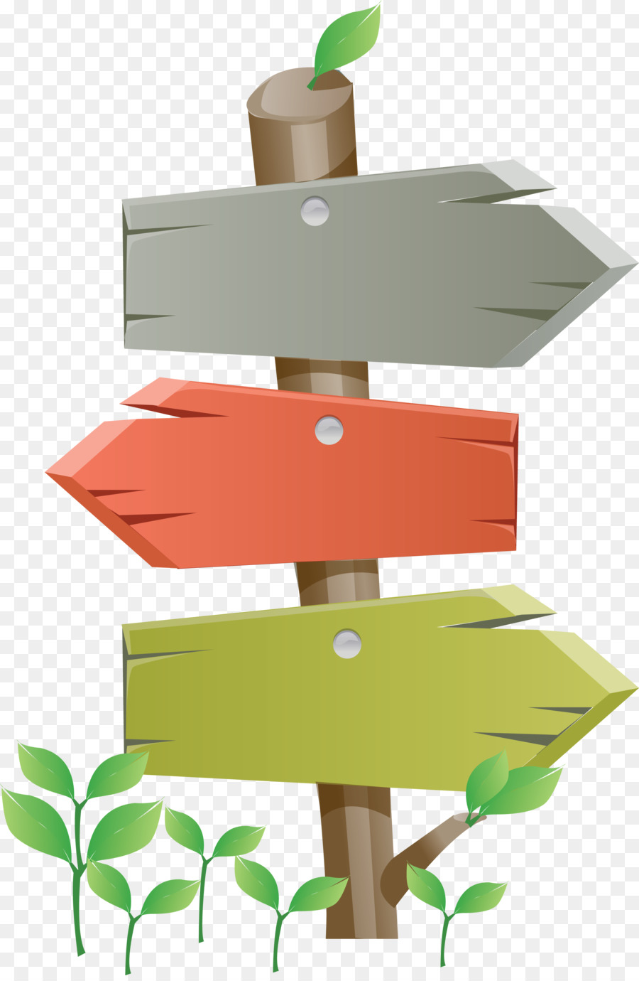 Direction position or indication. Arrows clipart signboard