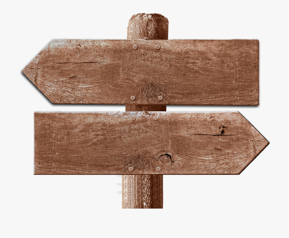Arrows clipart signboard. Png wooden arrow signs