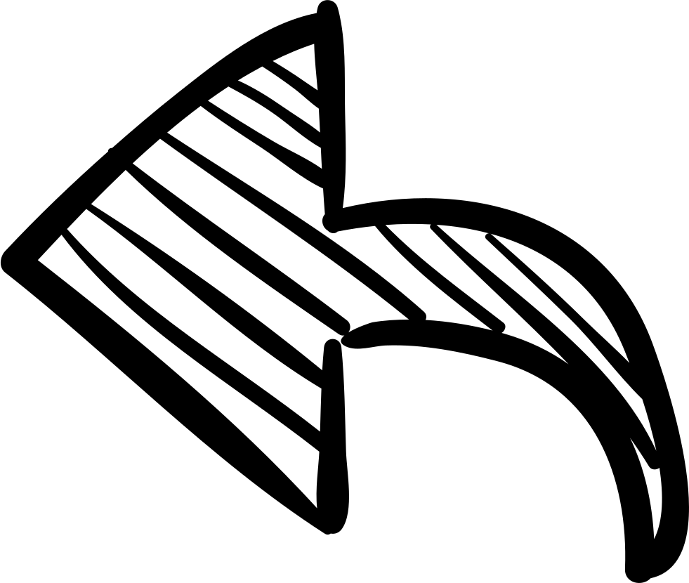 Left arrow svg png. Handcuffs clipart sketch