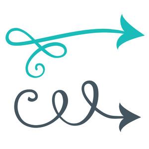 Arrow clipart swirl. Free clipartmansion com silhouette