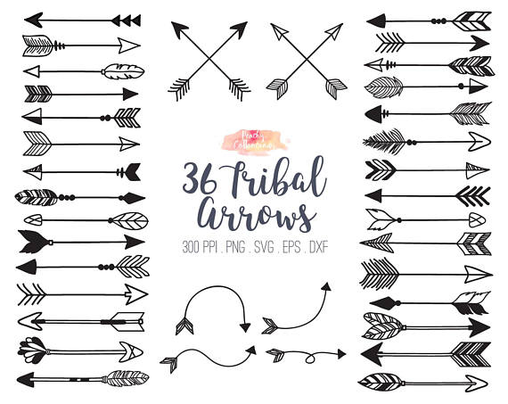 Buy get free arrow. Arrows clipart tribal