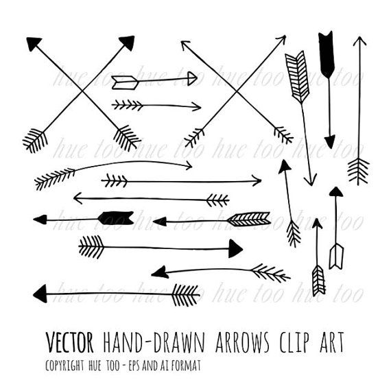 Clip art tribal arrow. Arrows clipart vector