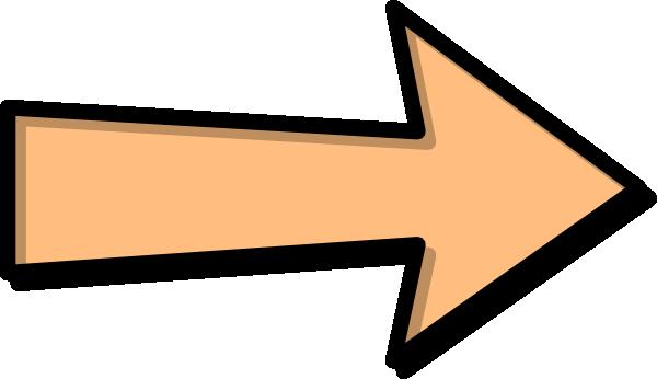 Orange clip art panda. Arrow clipart vector