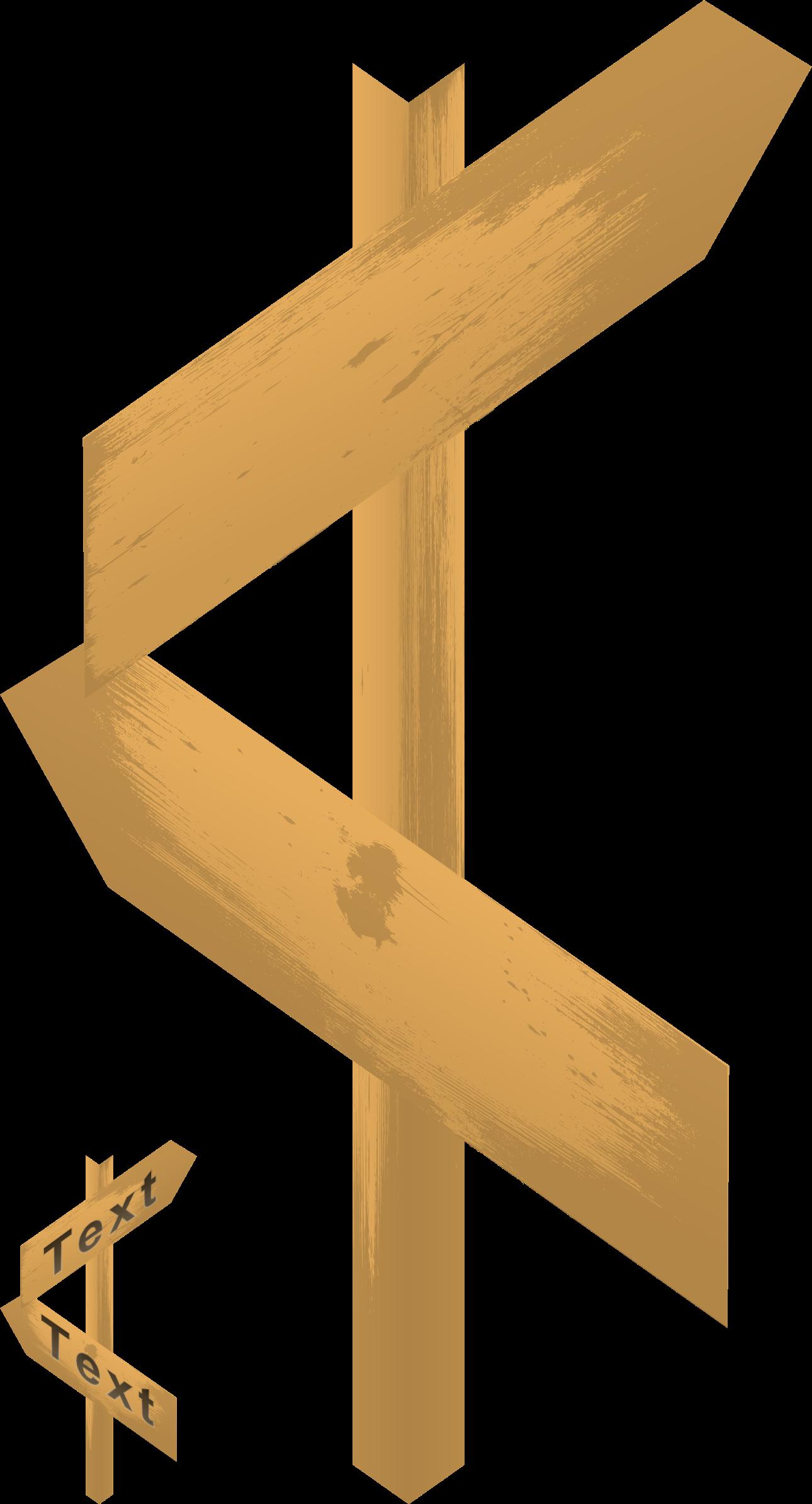 Arrow clipart wood. Blank sign big image