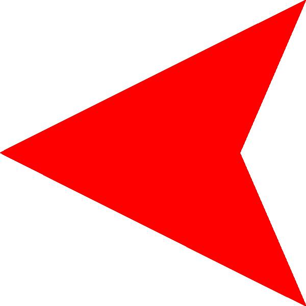 Red vertical transparent pictures. Arrow images png
