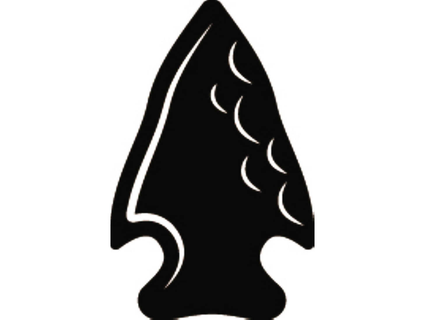 Arrowhead clipart. Indian native american warrior