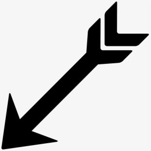 Arrowhead clipart arrow down. Point arrowheads clip art