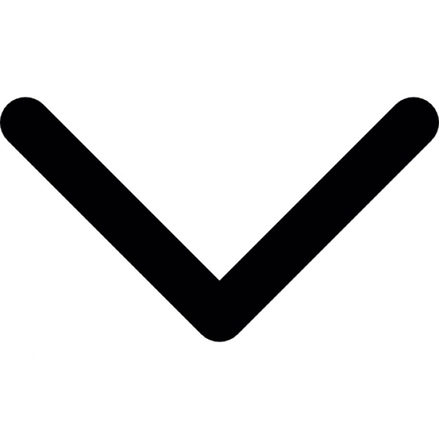 Caret facing icons free. Arrowhead clipart arrow down