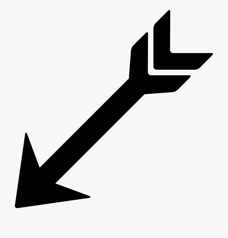 Arrowhead clipart arrow point. Bow indian arrows pointing