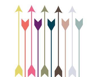 Printable arrowheads etsy off. Arrowhead clipart arrowhead indian