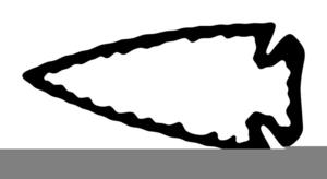 Free images at clker. Arrowhead clipart arrowhead indian