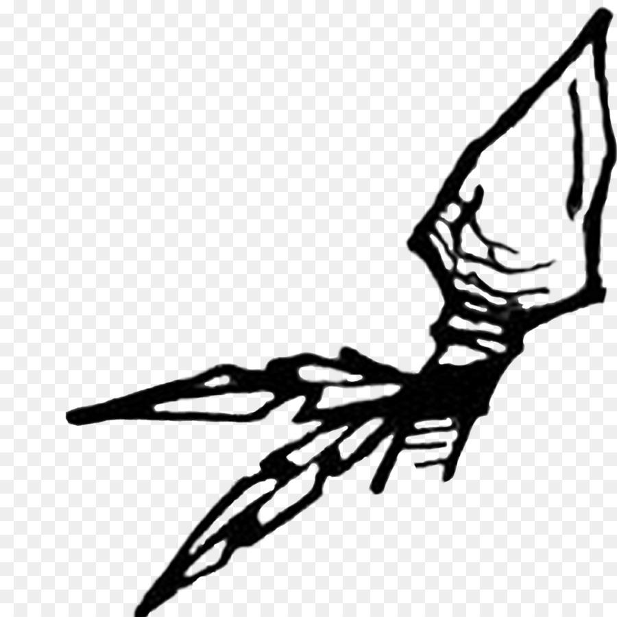 Arrowhead clipart black and white, Arrowhead black and ...