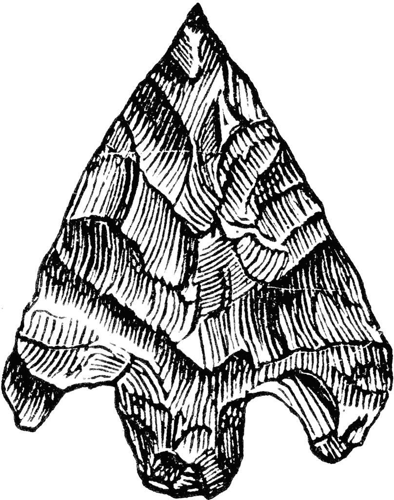 Arrowhead clipart cartoon. Unique collection digital k