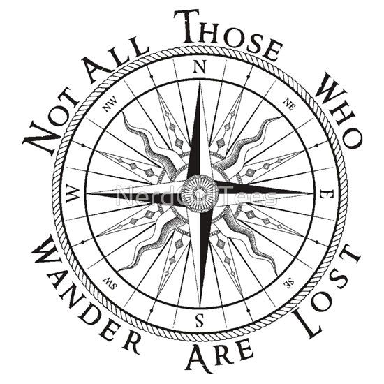 Arrowhead clipart compass.  best tattoos images