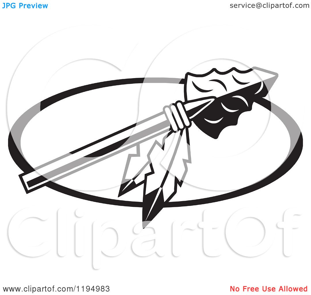 Warrior clipart feather. Of a black and