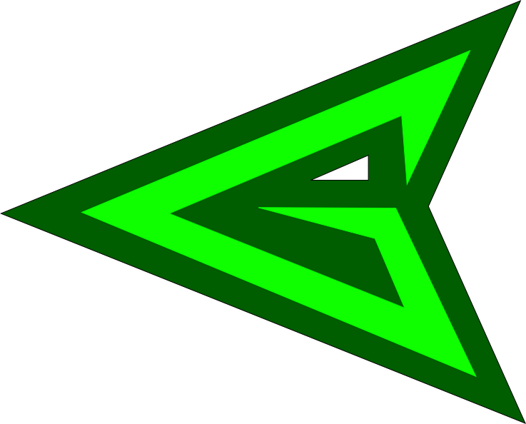 arrowhead clipart emblem