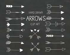 free awesome clip. Arrows clipart end