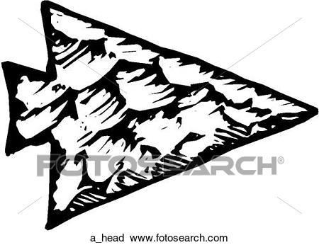 arrowhead clipart flint