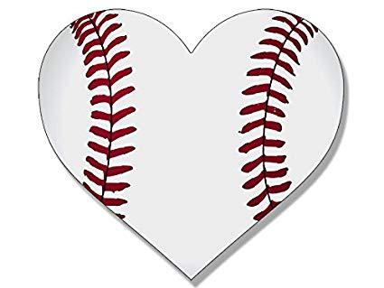 Amazon com baseball sticker. Arrowhead clipart heart shaped
