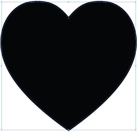 Making a lacy valentine. Arrowhead clipart heart shaped