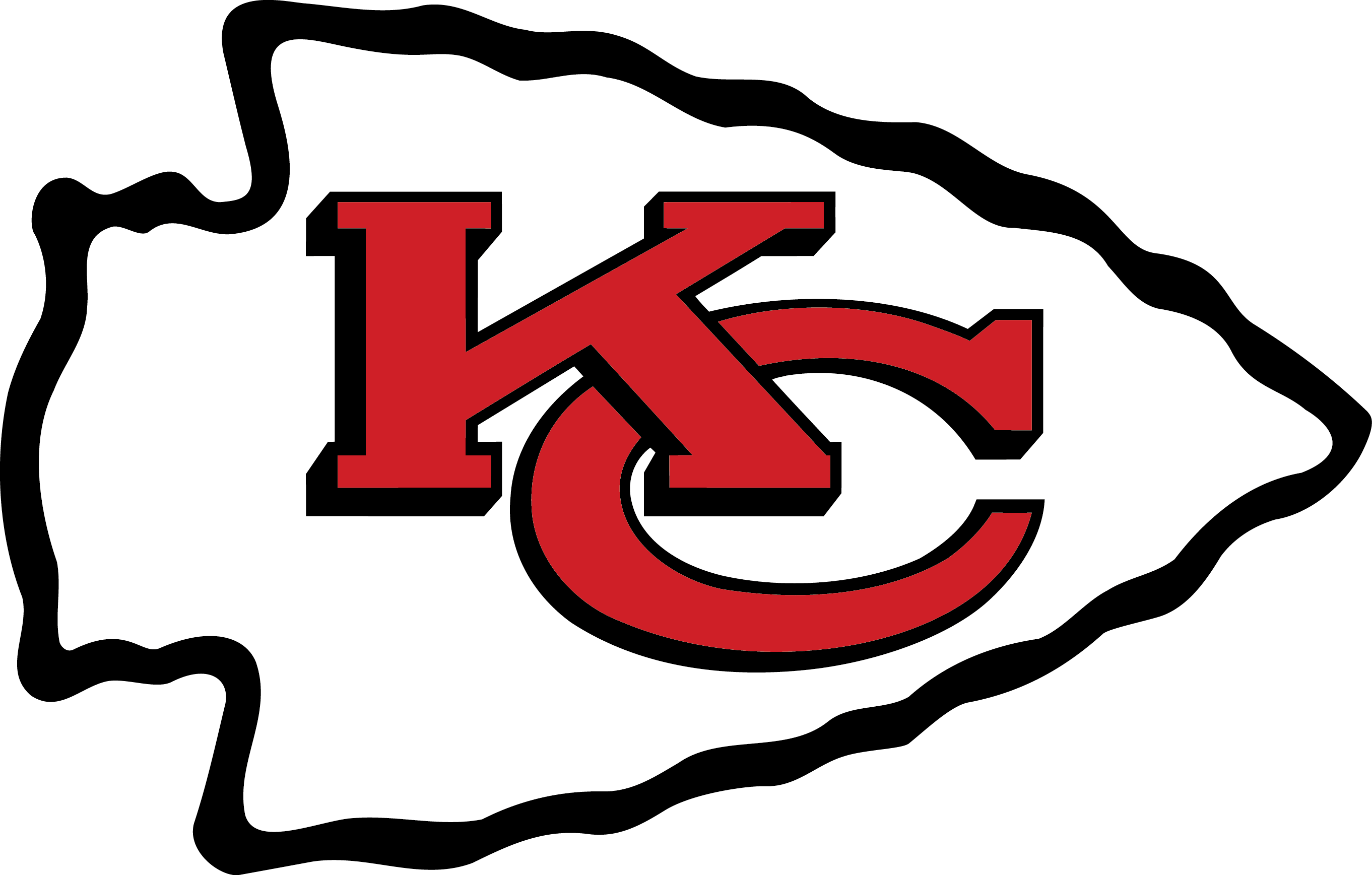 Schedule clipart printable. Kansas city chiefs logo