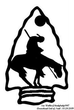 Image result for clip. Arrowhead clipart native american arrowhead