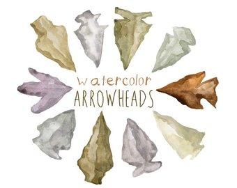arrowhead clipart native american arrowhead