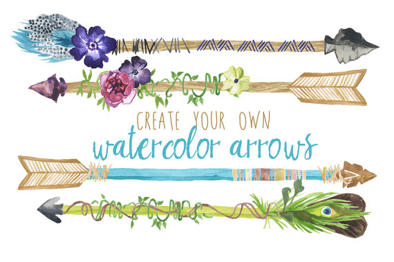 Arrowhead clipart plant. Create your own watercolor
