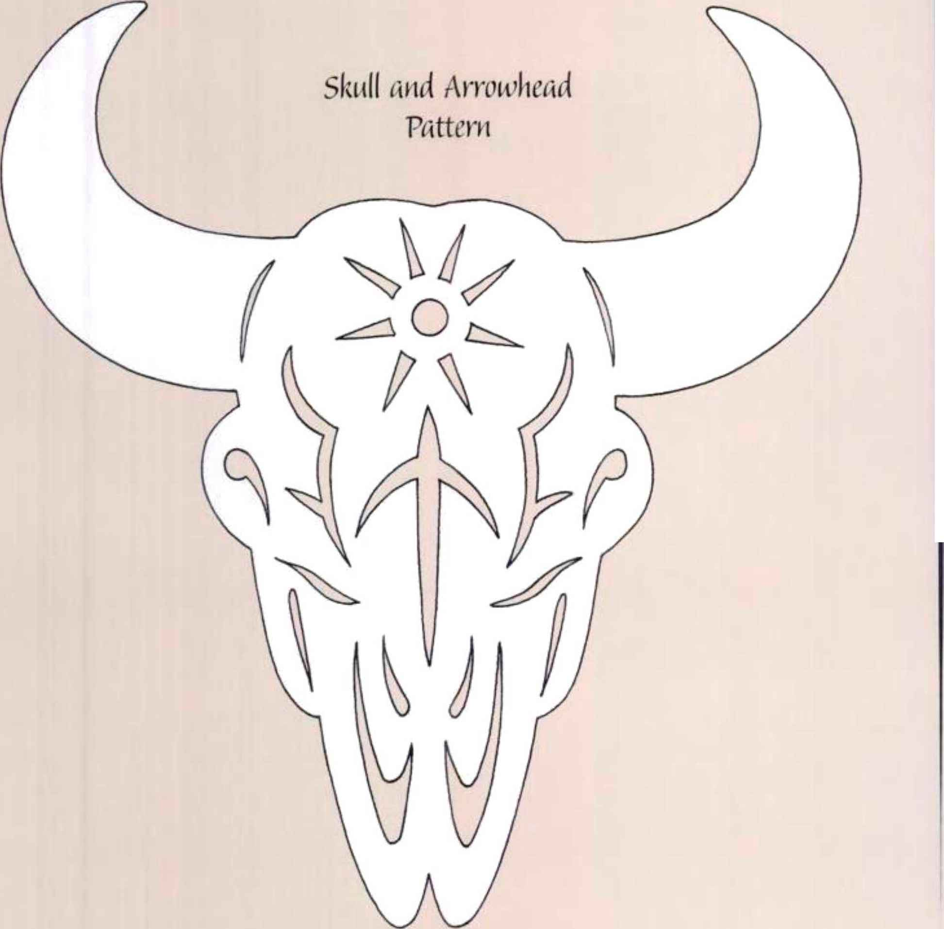 Arrowhead clipart scroll saw. Moveable parts woodworking archive
