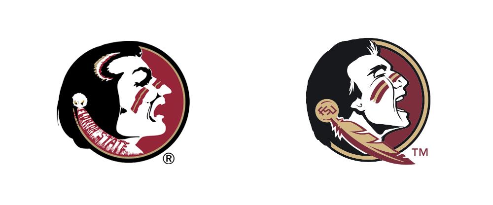 Brand new logo identity. Arrowhead clipart seminole