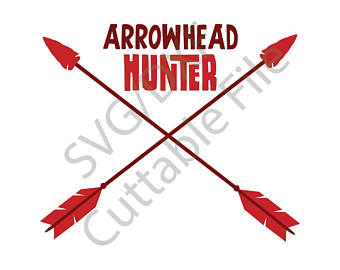 Svg etsy arrow dxf. Arrowhead clipart seminole