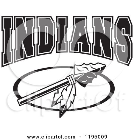 Arrowhead clipart seminole. Indian clip art black