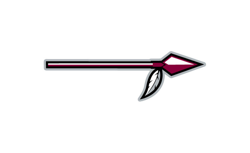 Arrowhead clipart spear.  collection of native