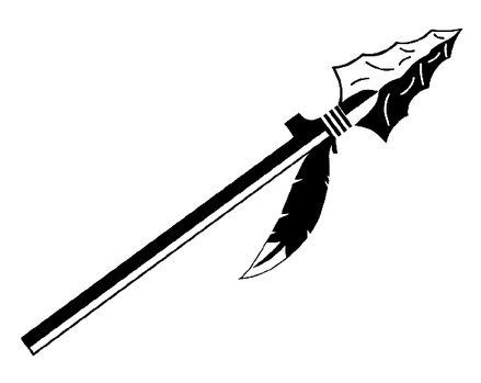 collection of native. Warrior clipart arrow