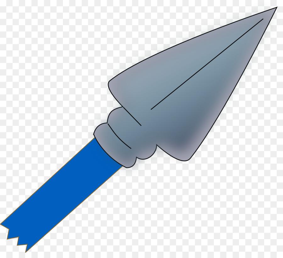 Arrowhead clipart spear. Line cartoon drawing wing