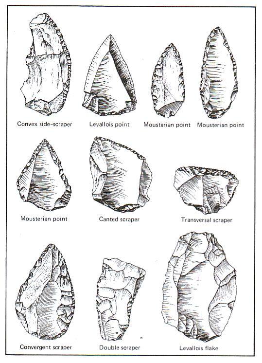 Arrowhead clipart stone age. The different arrow spearheads