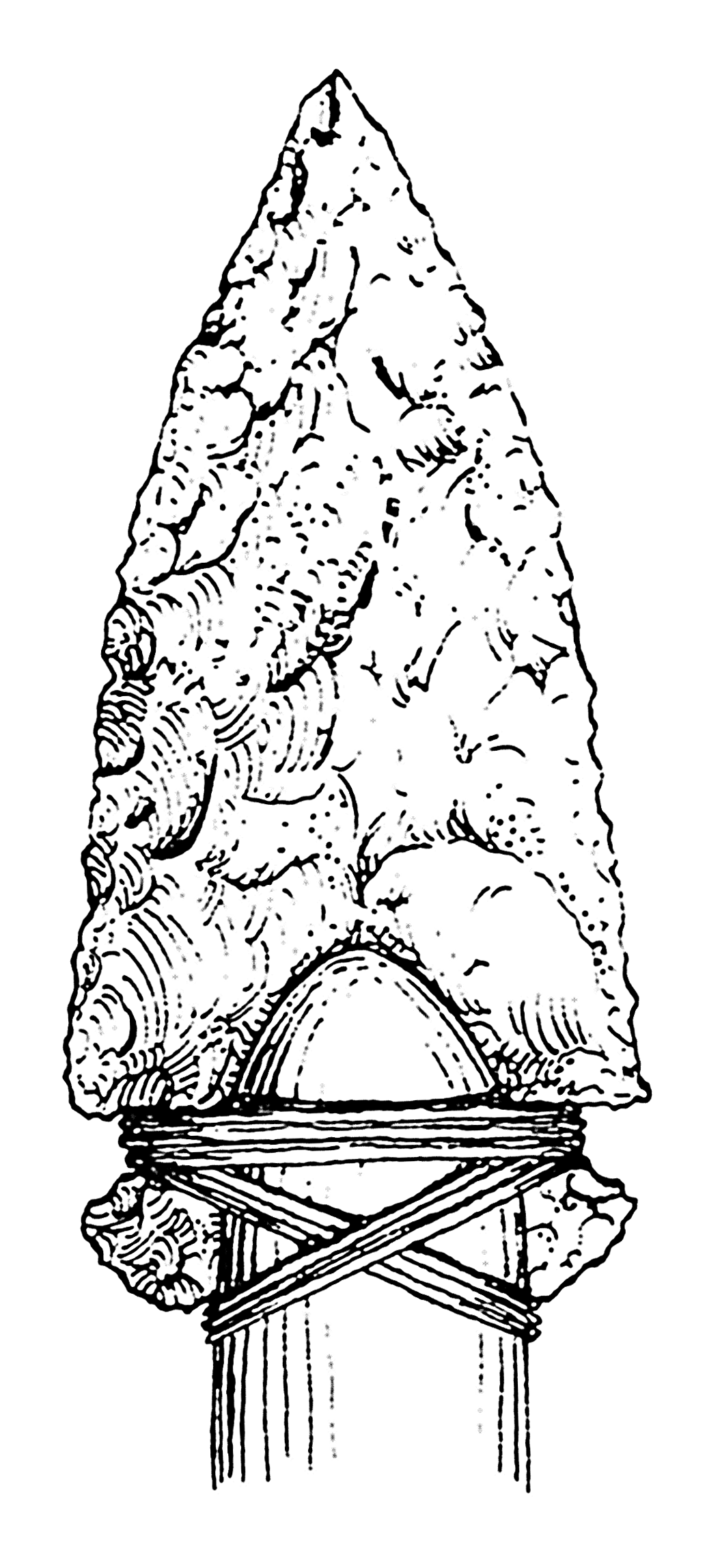 File psf png wikimedia. Arrowhead clipart stone tool
